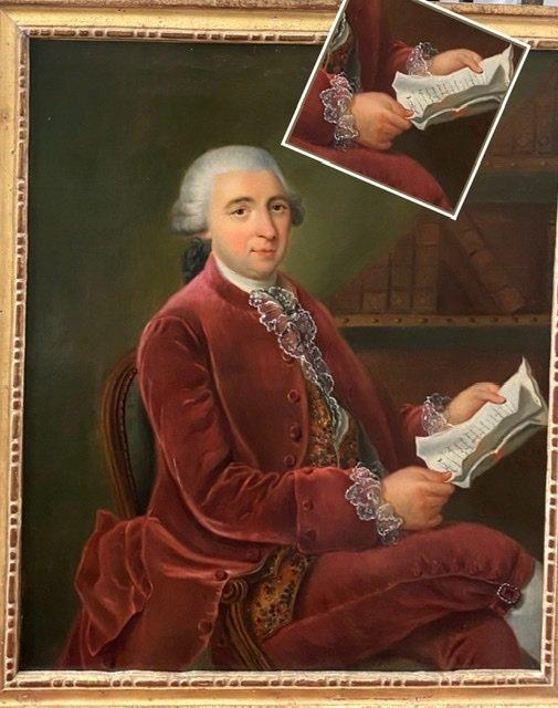 Lettré à sa dépêche , 1784, Signé. XVIIIè