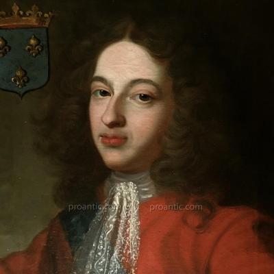Louis de France, Duc de Bourgogne, Père de Louis XV.