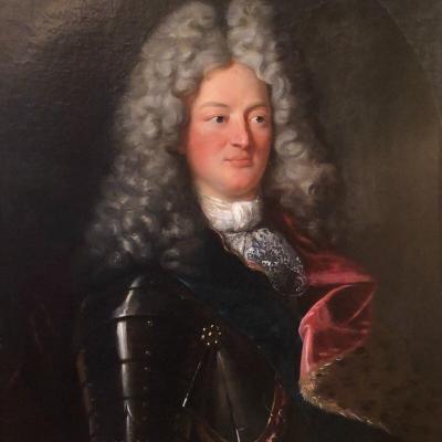 Louis De Bourbon, Son Of Louis XIV And Madame De Montespan Around 1708. Epoque Eighteenth