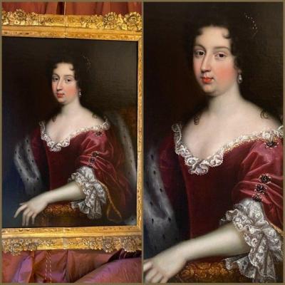 Dame de grande noblesse et beauté, Régence, XVIIIè.