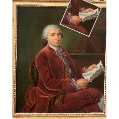 Lettré à Sa  Dépêche , 1784, Signé. XVIIIe