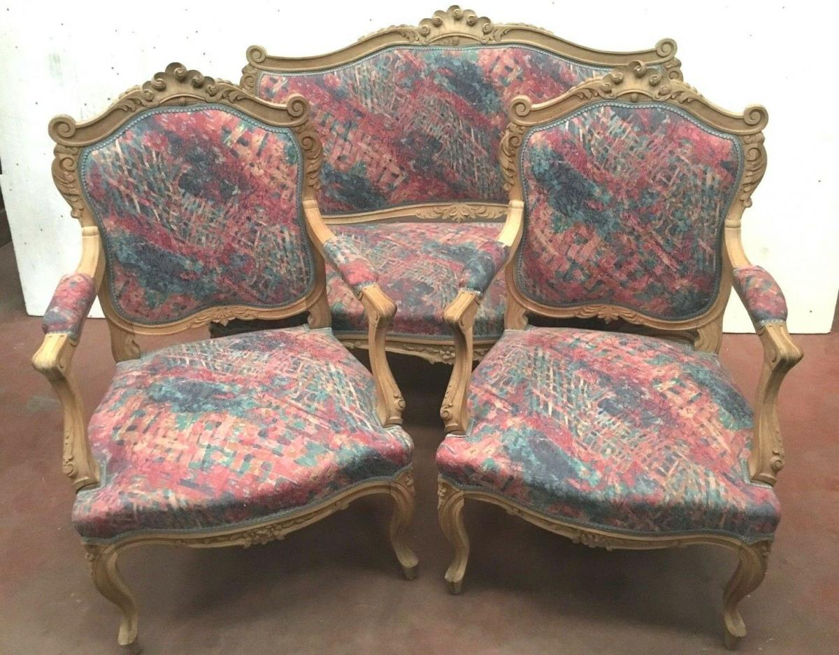 Enjoyable Louis Xv Style Living Room Furniture Sofa And Chairs Rockery Machost Co Dining Chair Design Ideas Machostcouk