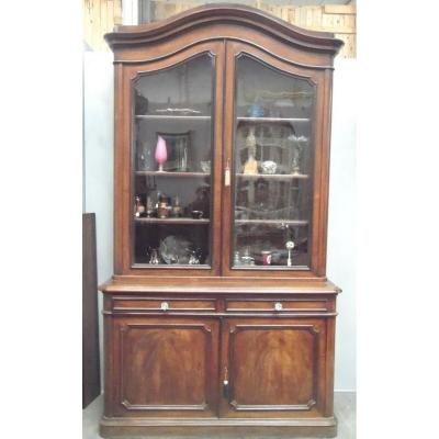 Napoleon III Sideboard / Two-piece Cabinet / Sideboard Cabinet / Antique Furniture