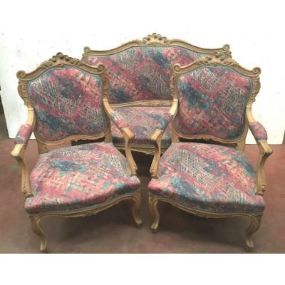 Louis XV Style Living Room Furniture Sofa And Chairs Rockery Chairs