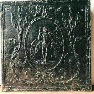 19th Century Cast Iron Fireplace Base Plate
