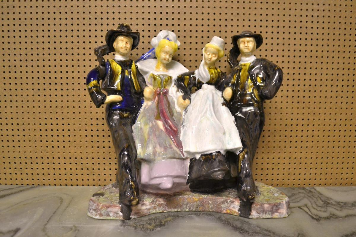 """Hb Quimper """"danseurs En Quadrette"""""""