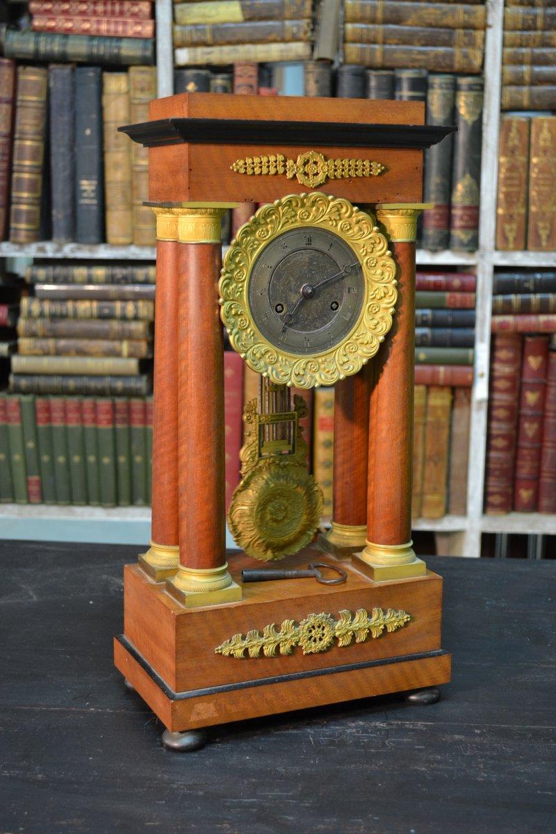 Pendulum Columns, Restoration Period
