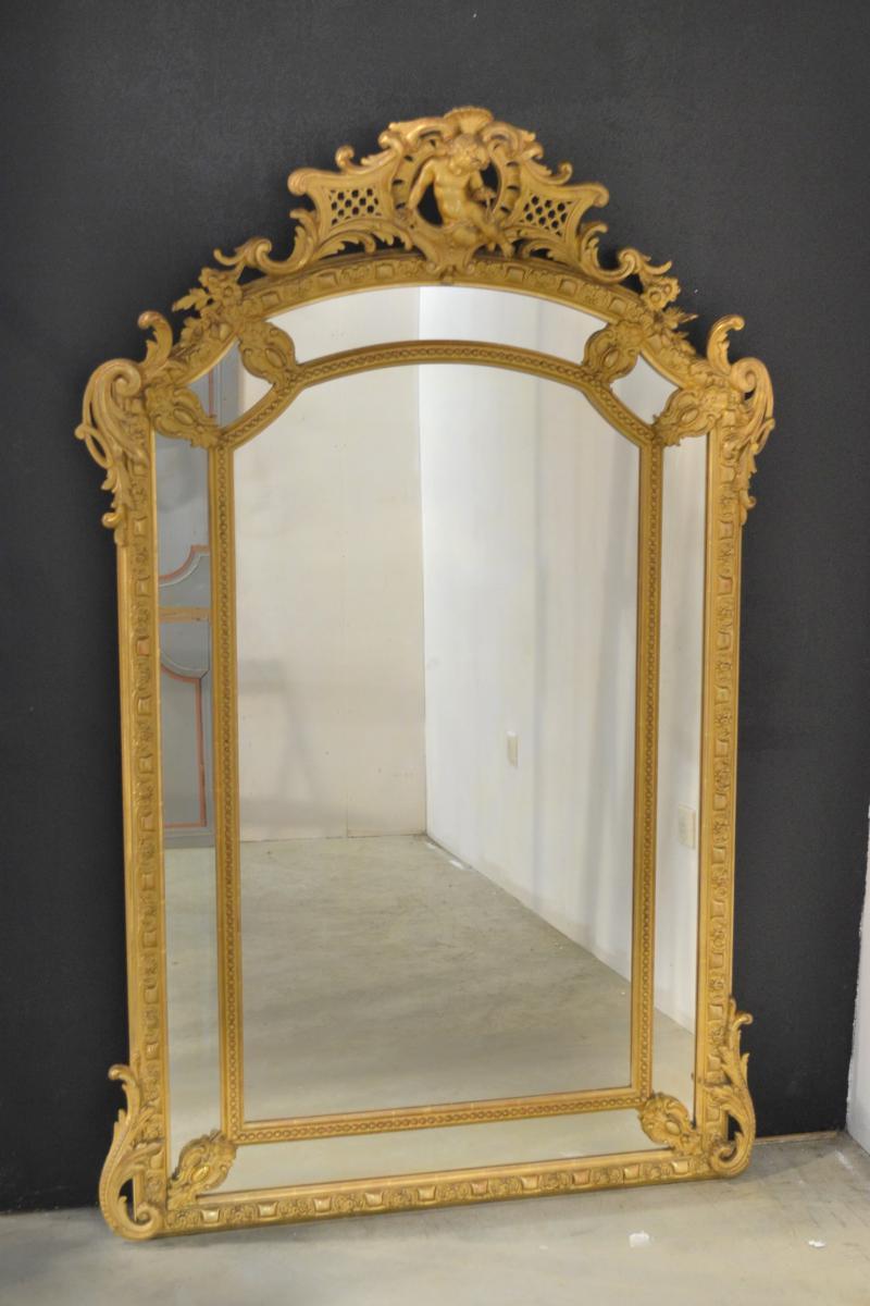 Miroir Doré XIXème Siècle