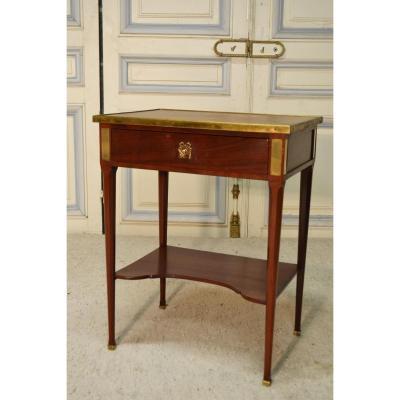 Petite Table De Salon En Acajou De Style Lxvi