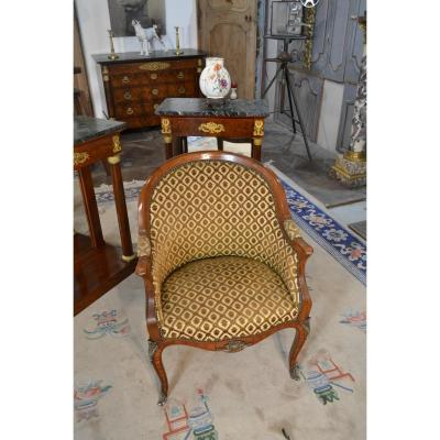 Office Chair Louis XV Style