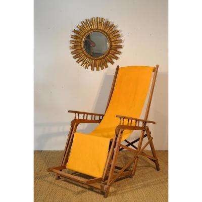 Chaise De Pont Pliante Asca, Vintage
