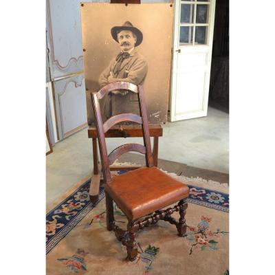 Walnut Chair, 17th Century