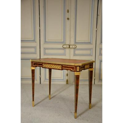 Louis XVI Style Writing Table In The Style Of Riesener.