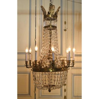 Bronze Chandelier And Pendants Empire Style