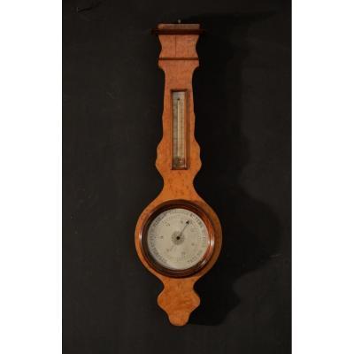 Baromètre-thermomètre époque XIXème Siècle