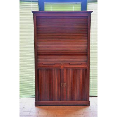 Solid Mahogany Binder From The 1900s