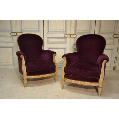Pair Of Bergères Style Lxvi