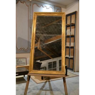 Miroir Doré Rectangulaire époque Restauration