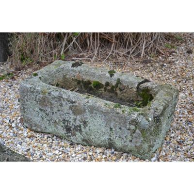 Small Norman Granite Trough