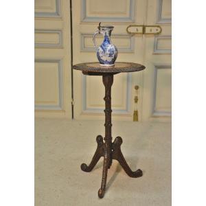 Pedestal Or Tasting Table, XIXth Century.