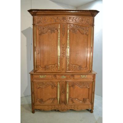 Buffet Two Corps Normand Oak