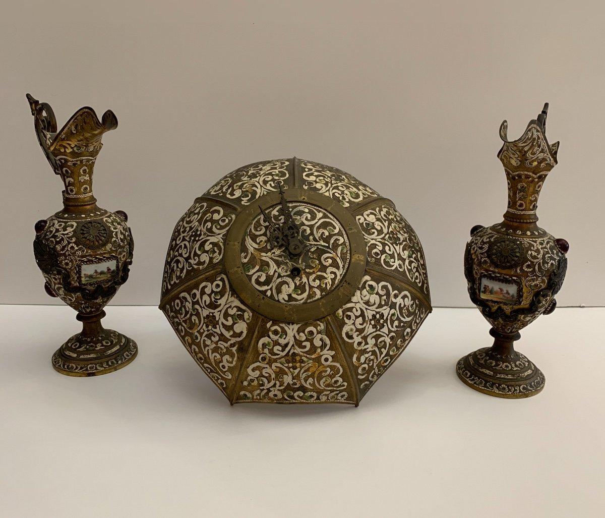 Russian, Copper Fireplace Trim