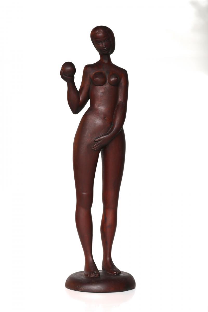 Eve De Riccardo Scarpa Venise 1905  58X 16 Cm