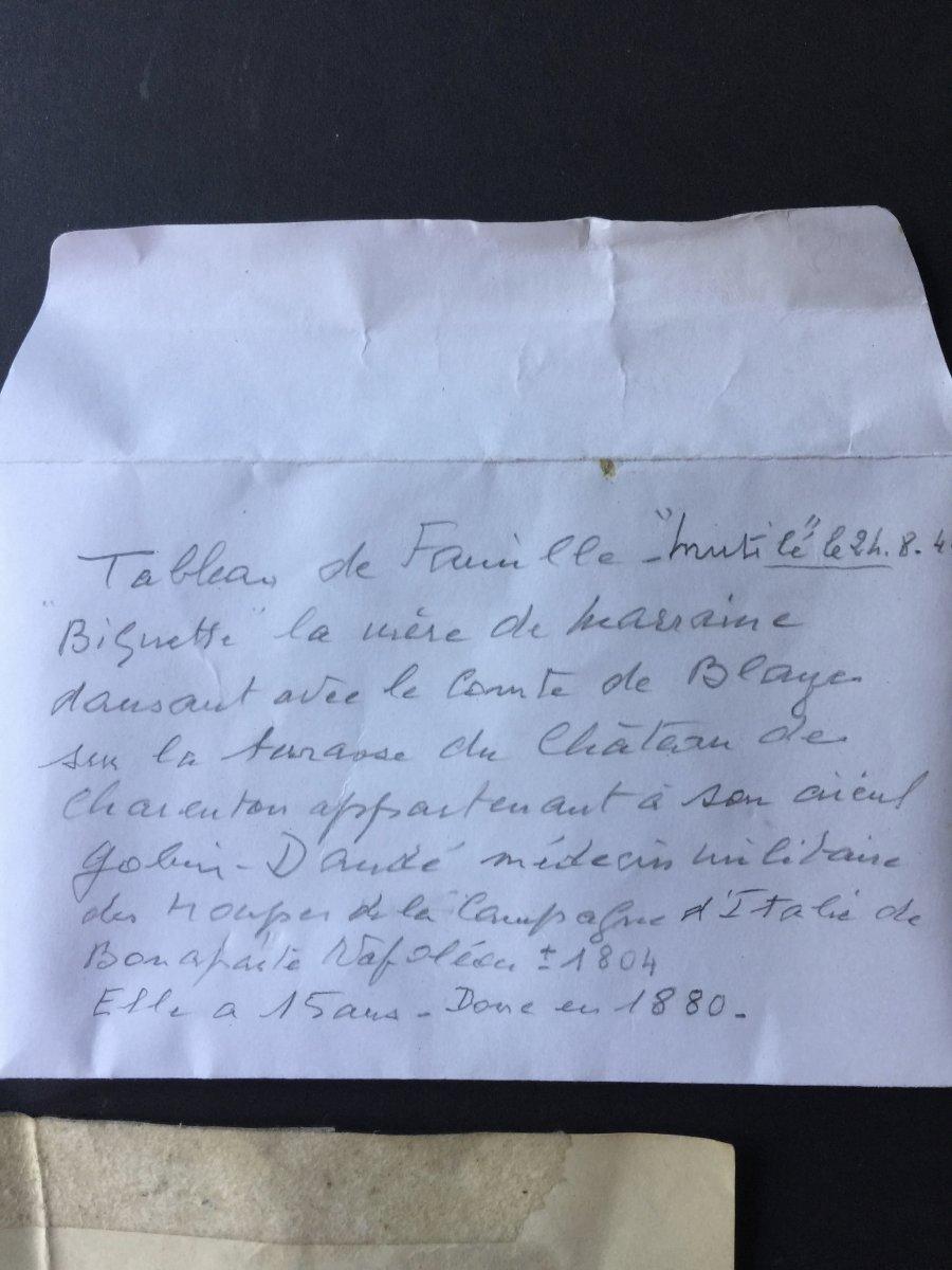 Militaria -  Toile 19ème Percée Par Balle Perdue De Mitraillette Bataille 25 Aout 1944  à Paris-photo-5