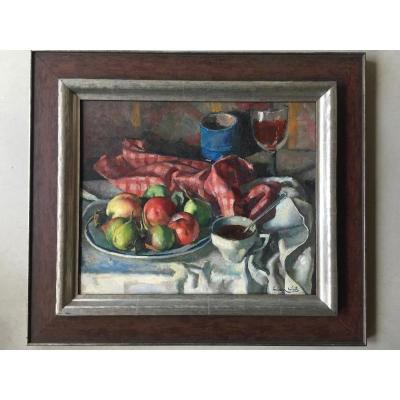 Lucien Weil 1902 Biesheim Oil - 1963 Erquy