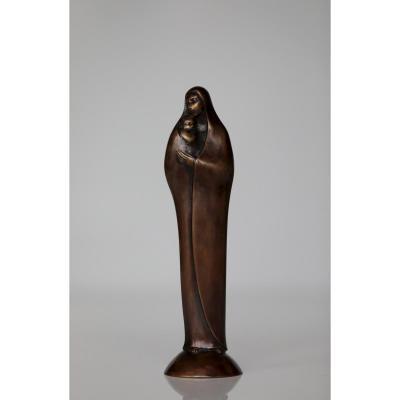 Bronze Signé Numeroté 1/4 De Riccardo SCARPA 1905-1999