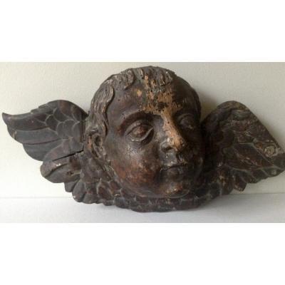 Head Of Angelot XVIIIth Century