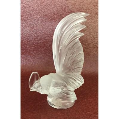 Dwarf Rooster Lalique France