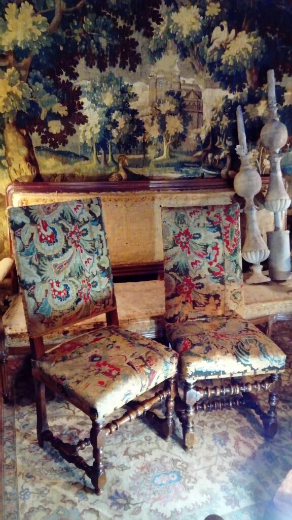 Chaises Louis XIII d'époque 17eme