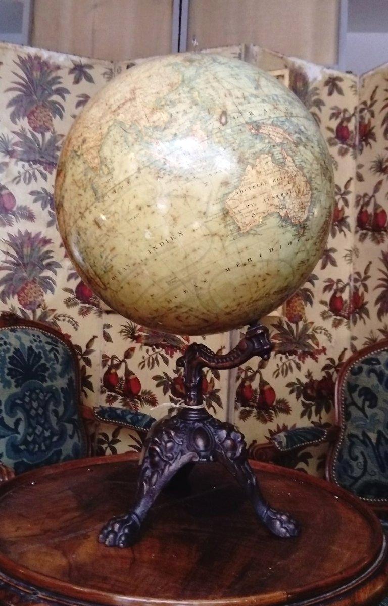 XIX Globe By J. Lebegue & Cie
