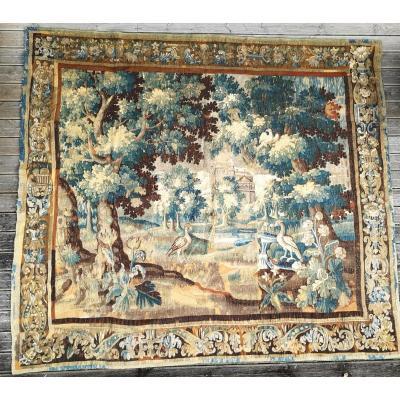 Aubusson Verdure Tapestry Eighteenth Time