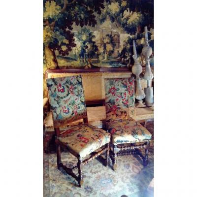 Louis XIII 17th Century Chairs