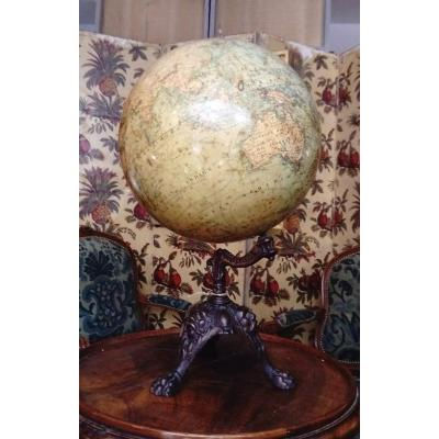XIX Globe By J. Lebegue & Cie