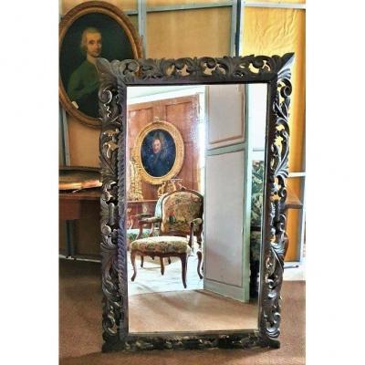 Grand Miroir Italien XIX ème
