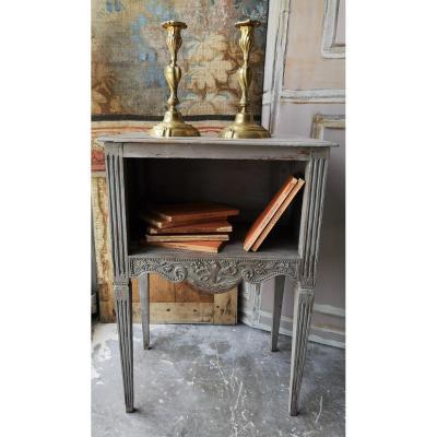 Chevet De Style   Louis XVI En Bois Peint  Fin XIXème