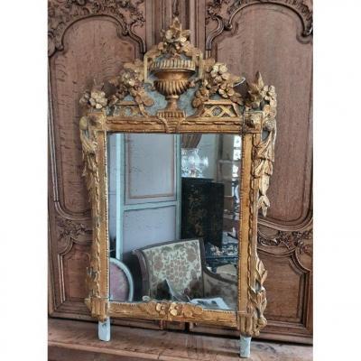 Miroir Louis XVI  Provençal d'époque XVIIIème