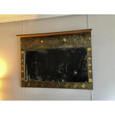 Grand Miroir Art Nouveau