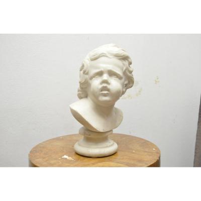 Buste Des Enfant Qui Pleure Suivre De Francois Duquesnoy