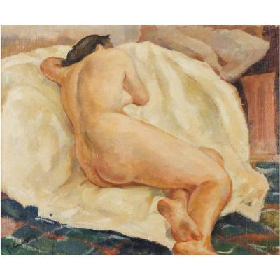 Nude Of A Woman Early 20th Century