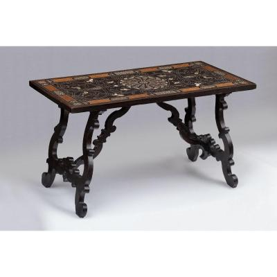 Table Florentine Du 17ème Siècle