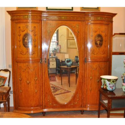 Armoire Victorienne Anglaise.