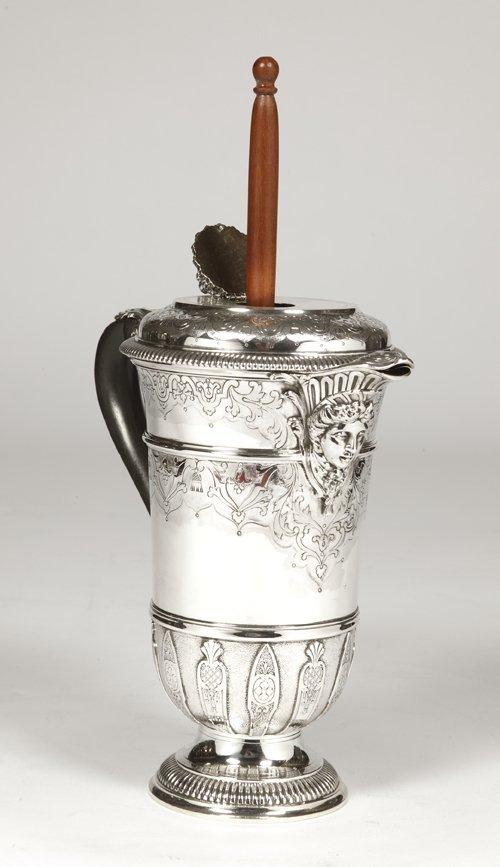 Orfèvre Cardeilhac  - Chocolatière En Argent Massif époque Fin XIXè Siècle