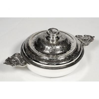 Goldsmith Lagriffoul And Laval - Vegetable Covered In Ears Silver Nineteenth
