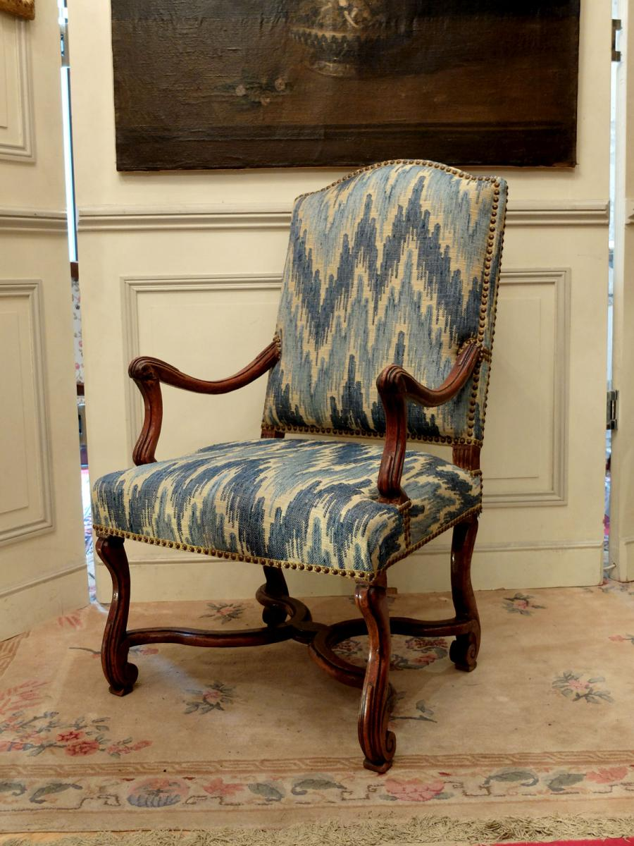 Pair Of Armchairs Louis XIV Period-photo-2
