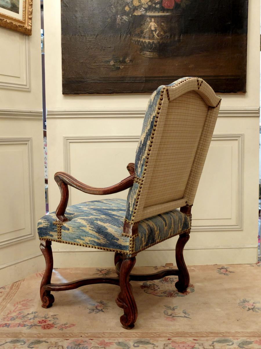 Pair Of Armchairs Louis XIV Period-photo-3