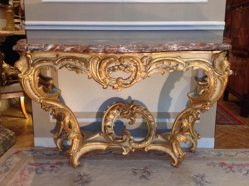 Grande Console Louis XV